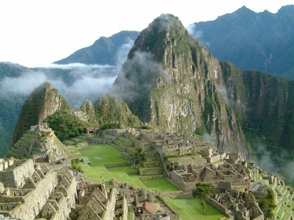 Fig. 5. Ubicación de ciudades en lugares estratégicos - Machu Picchu (Perú - Cuzco)