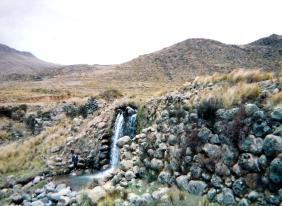 Represas Pre Incas en Nepeña