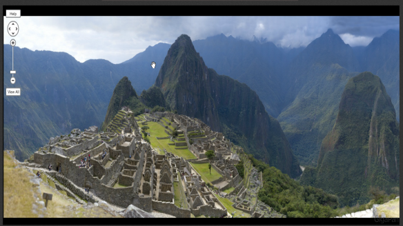 A spectacular image of Machu Picchu with 16 megapixel resolution
