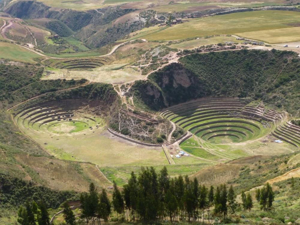 Andenes de Moray en el Cusco (1/5)