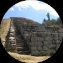 Escalinata de 94 peldaños que da acceso a cada una de las fuentes sagradas
