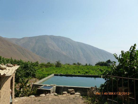 Sistema de Cochas en la Comunidad de Huayopampa