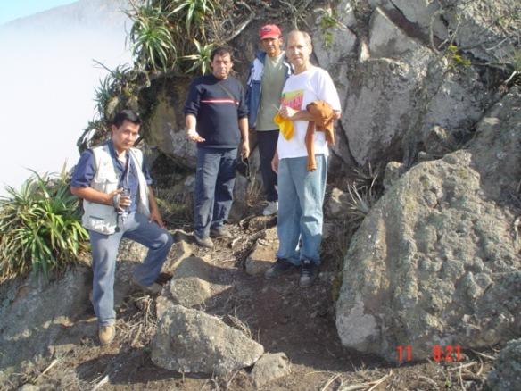 En la cima de las Lomas de Mongón