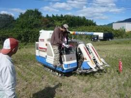 Maquinaria para la cosecha