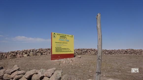 Limite de cuenca, pasamos a la cuenca del río Lurín