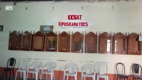 Las 10 parcialidades representadas en estas urnas donde se ubican el icono representativo de cada lugar EL QUIPU