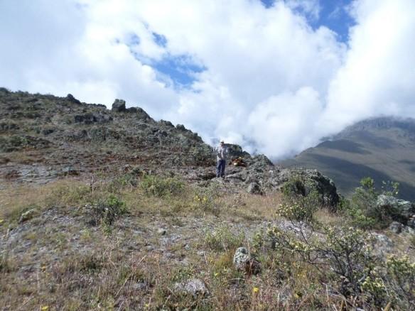 Figura 34. Fin del tramo reconocible del canal Huiru Catac.