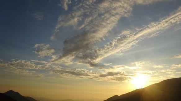 Hermoso cielo de Pamparomas