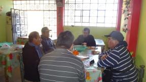 Desayuno de trabajo con directivos de Pamparomas