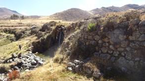 Presa Collpa, más de 2,000 años y aún en funcionamiento