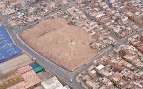 Huaca como centro de peregrinación en el Rimac
