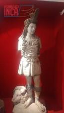 Inka Yupanqui Pachakuti (1438-1471), escultura italiana en marmol. Comienzos del siglo XX
