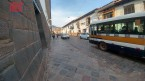 Unas de las calles de la ciudad del Cusco