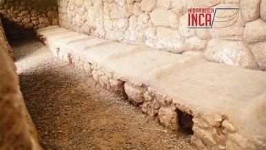 Una colca enfriada con aire a diferencia de las qolcas de Pisac que son enfriadas con agua que circulan a través de canaletas