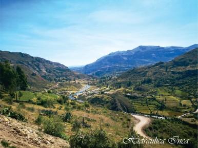 Sistema de Andenes en Chipao. Más de 3,000 ha en esta imponente infraestructura