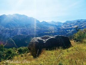 Hermosa maquetas incas ubicadas en el distrito de Chipao