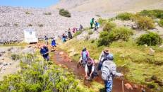 La fiesta del agua yaku raymi) la congregación campesina más importante para la limpieza de sus bocatomas, canales, puquios y toda la infraestructura de riego